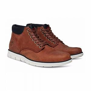 Timberland Bradstreet Leather Sensorflex, Bottes Chukka Homme, Marron (Red Brown FG), 41.5 EU