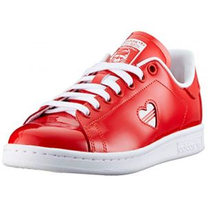 Adidas Stan Smith W G28136, Sneakers Basses Femme, Rouge (Red), 38 2/3 EU