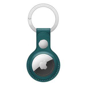 Apple Porte-Clés en cuir AirTag Vert Forêt