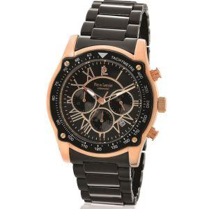 Pierre Lannier 219D - Montre pour homme Chronographe avec bracelet en céramique