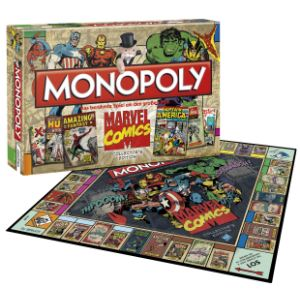 Winning Moves Monopoly Marvel Comics