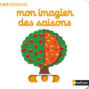 Nathan Livre Kididoc Mon imagier des saisons