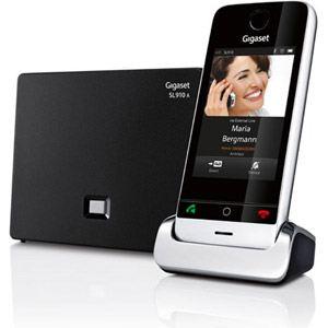 Gigaset SL910A - Téléphone sans fil tactile avec répondeur