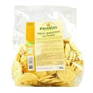 Priméal Mini galettes de maïs 150 g