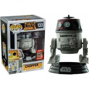 Funko Figurine Pop! Star Wars Rebels : Chopper Imperial Disguise Galactic Convention 2017