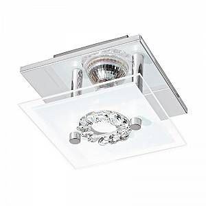 Eglo Plafonnier RONCATO 1x3W Chrome - LIGHTING - 93781