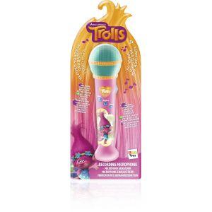 IMC Toys Microphone enregistreur Trolls