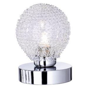 Reality Leuchten R59321106 - Lampe de table Touch-Me Wire avec fil en aluminium, 1 ampoule G9 (28W)