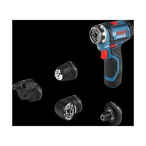 Bosch Professional GSR12V-15FC Perceuse visseuse set 2x 2Ah