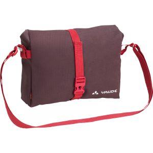 Vaude ShopAir Box - Sac porte-bagages - rouge Sacoches pour guidon