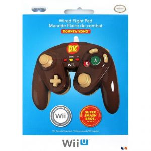 PDP Manette Fight Pad Donkey Kong pour Wii U