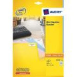 Avery-Zweckform L7651-100 - 6500 mini étiquettes d'adresses (2,12 x 3,81 cm)