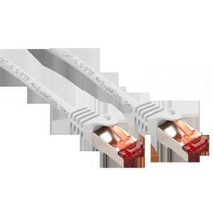 Lindy 47384 - Câble réseau Basic Cat.6 S/FTP blanc 2m