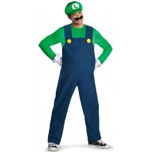 Déguisement Luigi deluxe adulte