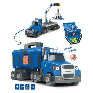 Smoby Playset Bob le bricoleur Camion deux tonnes électronique