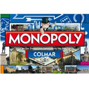 Winning Moves Monopoly Colmar