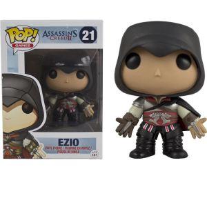 Funko Figurine Pop! Assassin's Creed : Ezio tenue sombre