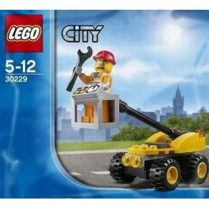 Lego 30229 - City : Cherry Picker Repair Lift