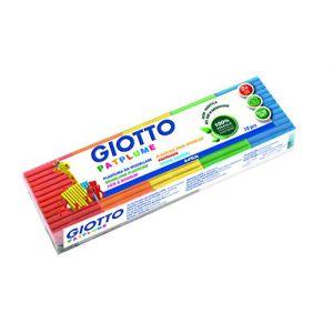 Giotto Pâte à modeler Patplume 100g set de 10 couleurs classiques