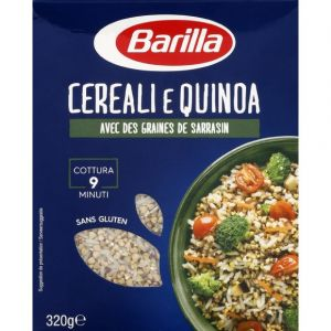 Barilla Cereali e quinoa avec des graines de sarrasin