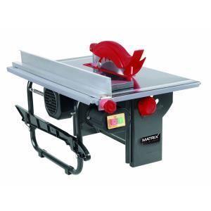 Matrix TS 800-200/1 - Scie sur table 230V 800W