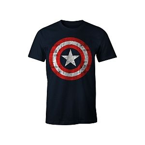 Cotton Division T-Shirt Captain America (Taille L)