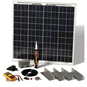 Solartechnology Kit photovoltaïque pour camping car avec fixations 60 Wc STPMH60