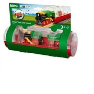 Brio World - 33892 - Train à Vapeur et Tunnel