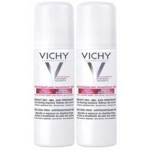 Vichy Déodorant anti-transpirant anti-repousse (2 x 125 ml)