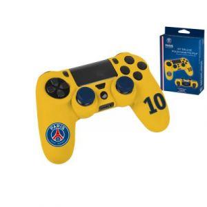 Housse de protection en silicone PSG n°10 pour manette Playstation 4