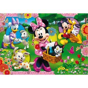 Clementoni Coffret 2 puzzles : Minnie 20 pièces