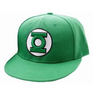 CODI Casquette Green Lantern Verte Visière plate Logo