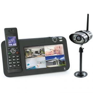 Scs sentinel 5872 - Kit vidéosurveillance + téléphone Dect