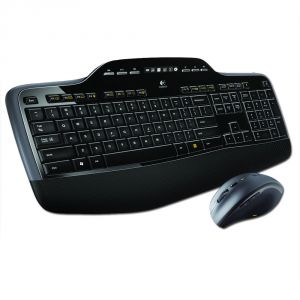 Logitech Wireless Desktop MK710 - Clavier et souris laser sans fil