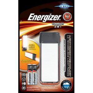 Energizer Lampe de camping LED white Compact 2in1 E300460900 à pile(s) 82 g gris foncé, orange