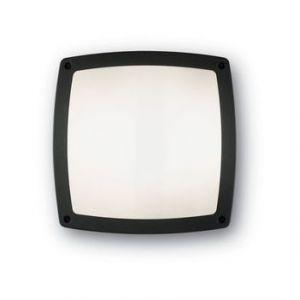 Image de Ideal lux 082271 - Plafonnier 3 lampes extérieur design Cometa noir aluminium