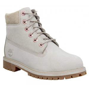 Timberland 6in Premium WP velours Femme-36-Light Taupe