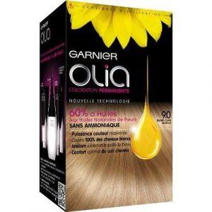 Garnier Olia 9.0 Blond Clair Radieux - Coloration permanente à l'huile sans ammoniaque