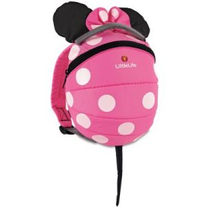 LittleLife Sac à dos enfant Disney Toddler Minnie rose
