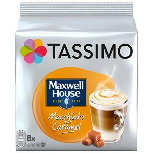 Tassimo 5 paquets de 8 dosettes T-Discs Macchiato caramel