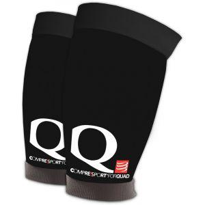 Compressport Quad Black - Manchons de compression