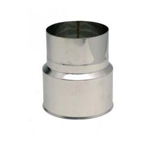 Ten 618039 - Réduction femelle-mâle inox 304 Diam. 180x139mm