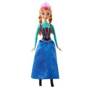 Mattel Poupée Princesse Anna Paillettes La Reine des Neiges