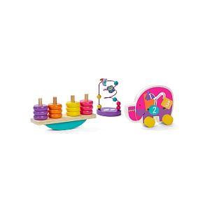 Universe of Imagination Trio de jouets en bois
