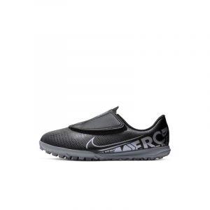 Nike Chaussure de football pour surface synthétique Jr. Mercurial Vapor 13 Club TF pour Bébé/Jeune enfant - Noir - Taille 30 - Unisex