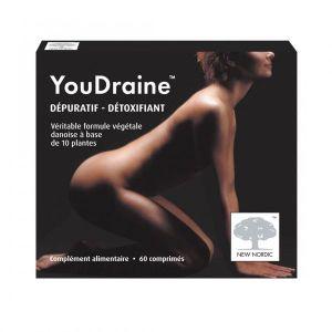 New Nordic YouDraine Dépuratif Détoxifiant 60 comprimés
