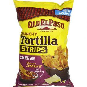 Old el paso Chips Tortilla strips crunchy