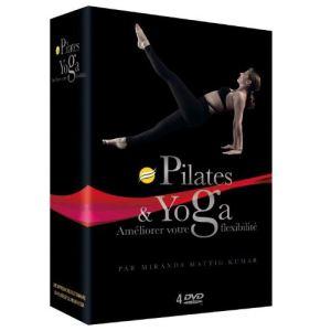 Coffret SwissBall et Yoga - Yoga Detox + Pilates Méthode Foam Roller + Power Yoga