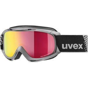 Uvex Slider FM Lunettes de protection Enfant, anthracite/mirror red Masques Ski & Snowboard