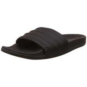 Adidas Adilette CF+ Mono, Mules Homme - Noir (Core Black/Core Black/Core Black), 38 EU (5 UK)
